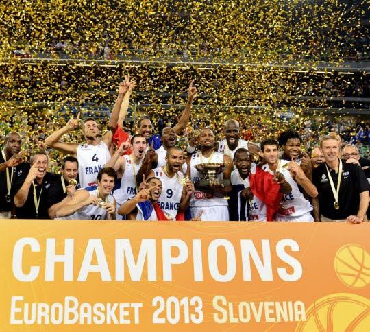 Baskets : la France championne d'Europe l-equipe-de-france-de-basket-ball-a-enfin-conquis-un-titre-majeur-apres-avoir-maitrise-de-belle-maniere-la-finale-de-l-euro-face-a-la-lituanie-photo-afp-jure-makovec
